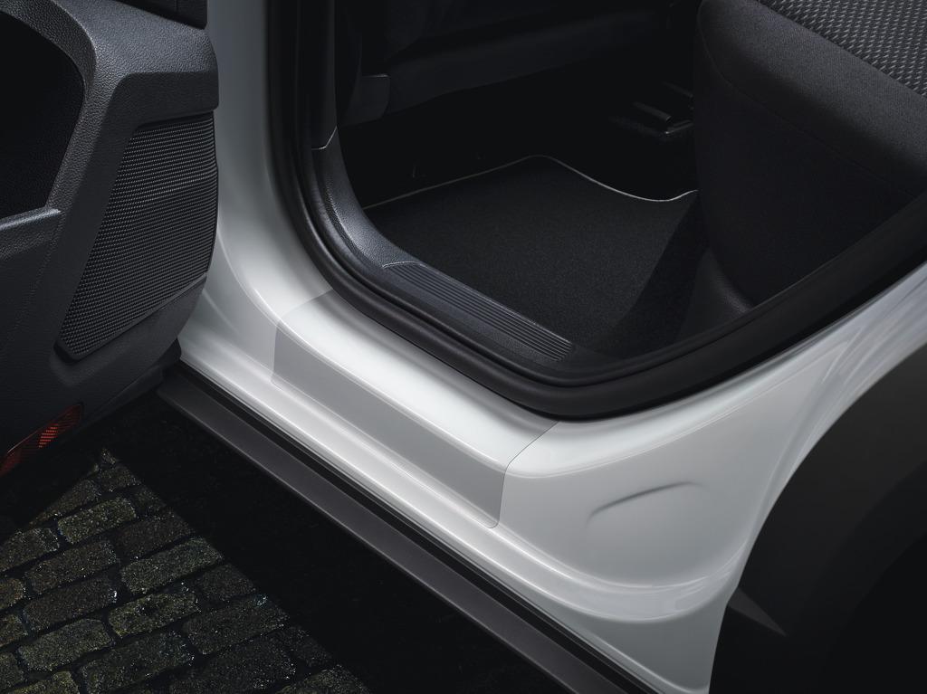 Schutzfolie für Einstiegsleiste Transparent, Türen hinten
