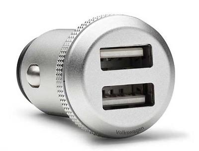 USB-Ladeadapter 2x USB, 2x2,4A, abgeschirmt