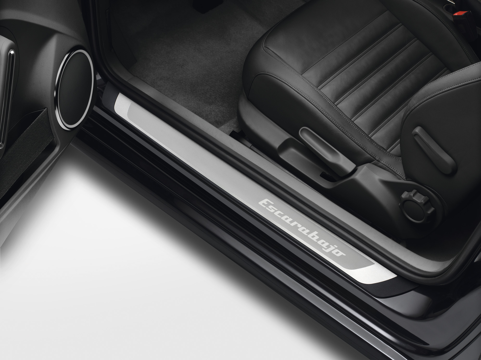 Volkswagen Original Einstiegsleisten Beetle, aus Edelstahl