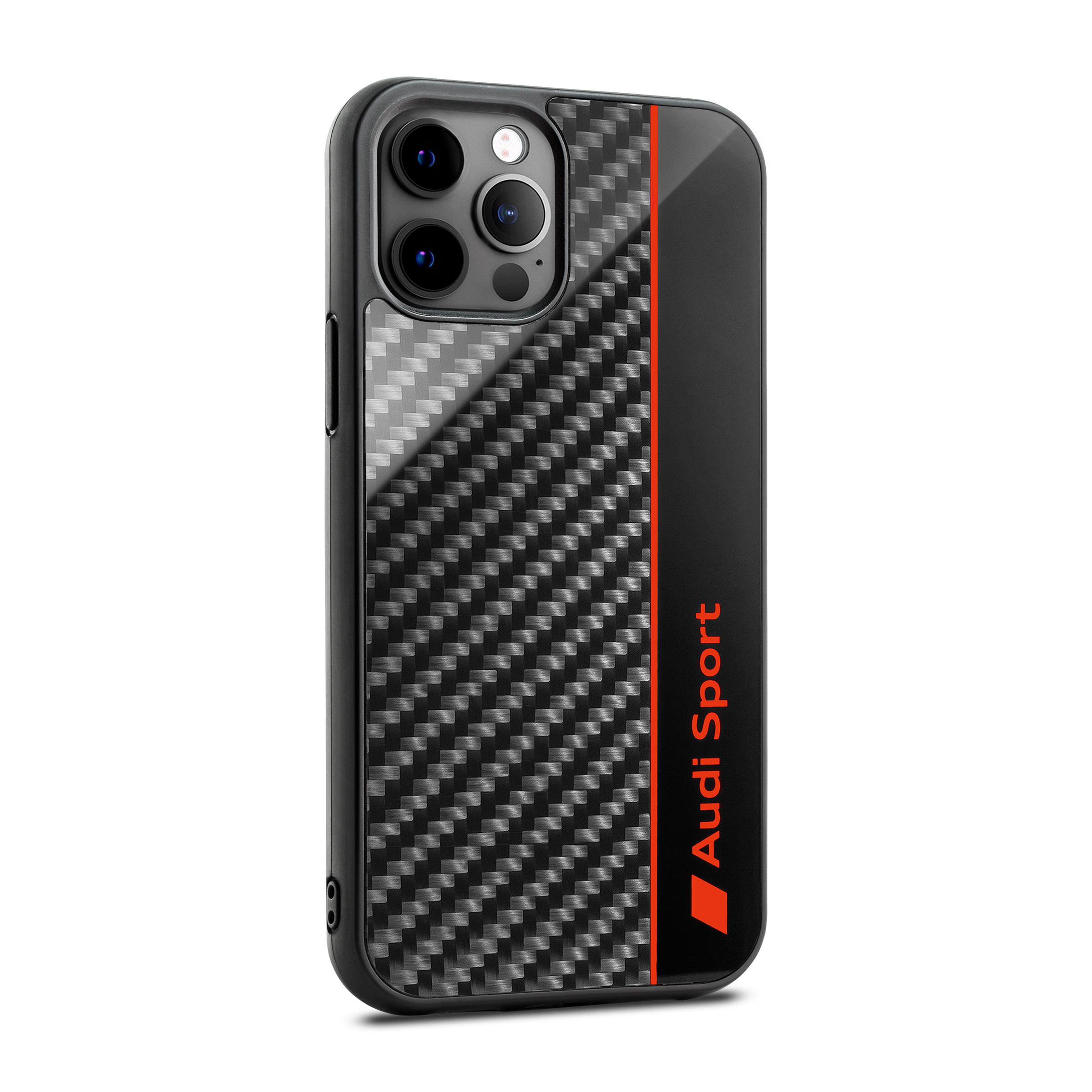 Audi Sport Smartphonecase, iPhone12/12Pro, grau