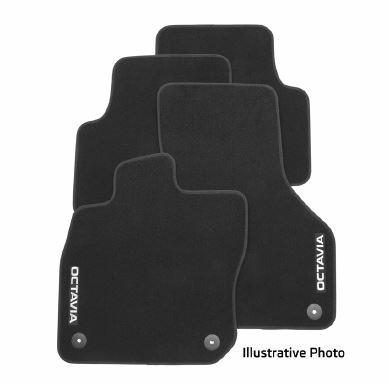 Textilfußmatten-Set Premium OCTAVIA IV e-Tec