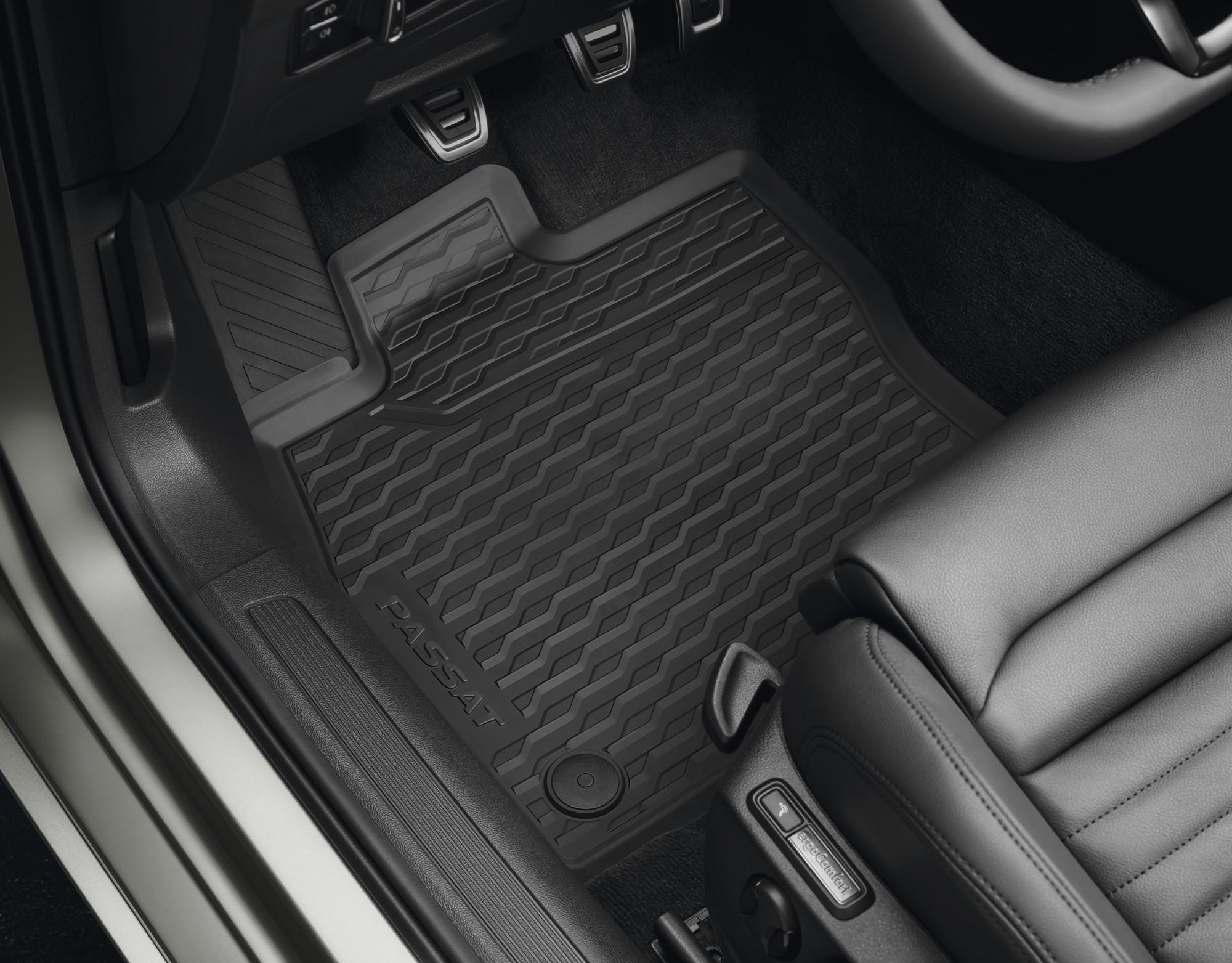 Volkswagen Original Allwetterfußmatten hinten