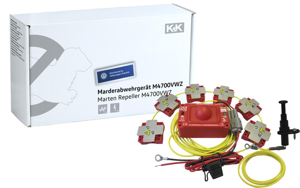 Marder-Abwehranlage (elektrotechnisch) K&K M4700, Ultraschall/Hochspannung