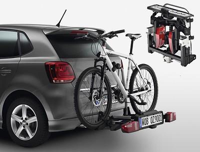 Fahrradträger für die Anhängevorrichtung 2 Fahrräder, klappbar, faltbar, Compact II, Linkslenker
