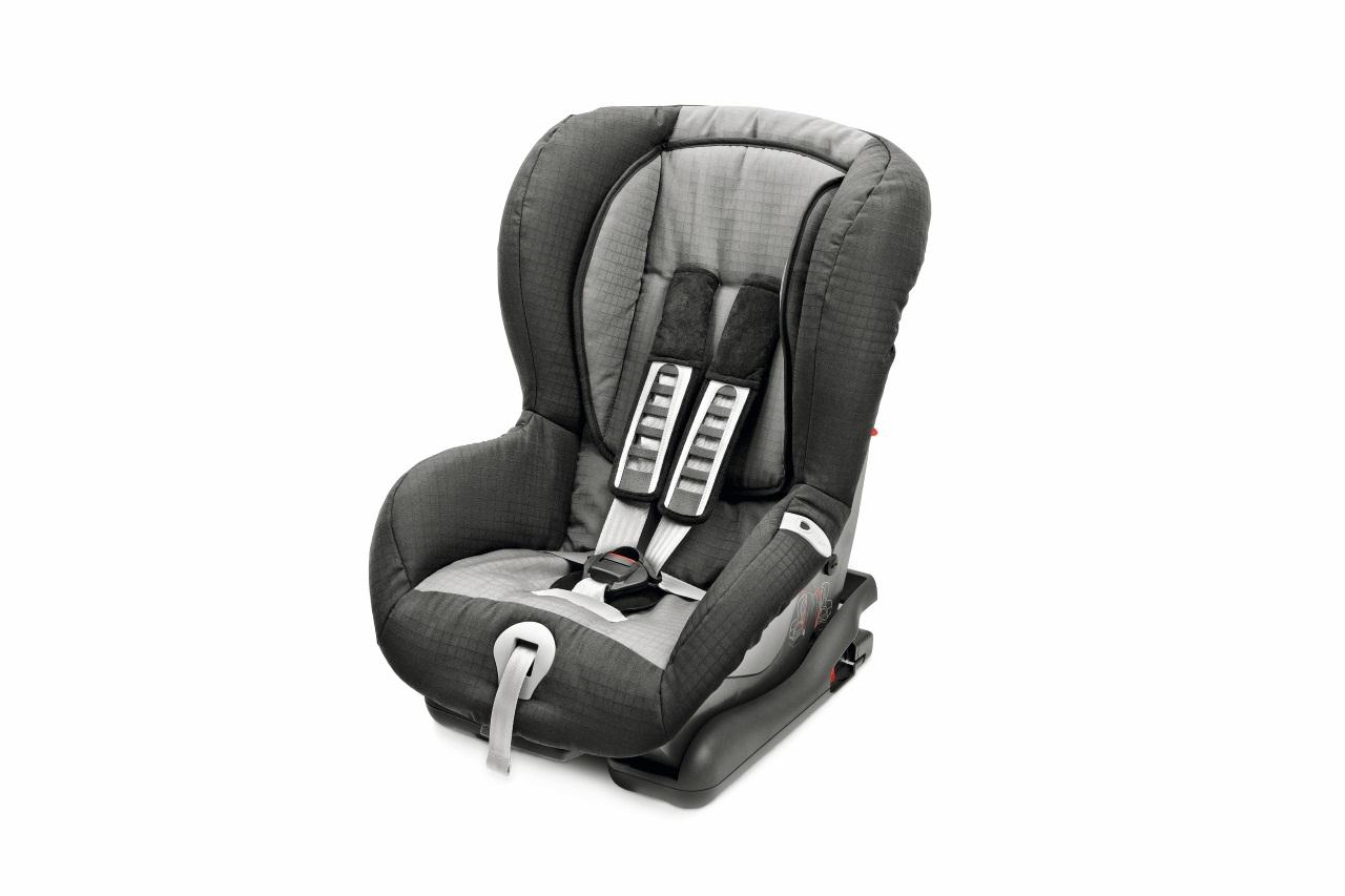 Kindersitz Duo Plus ISOFIX inkl. Top Tether, grau