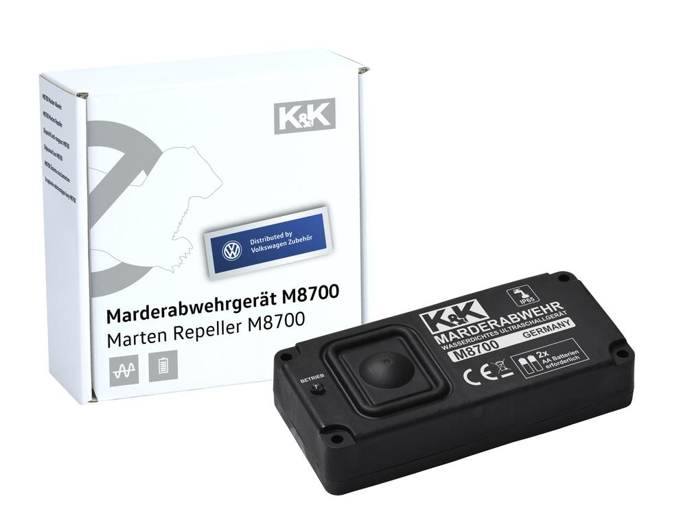 Marder-Abwehranlage (elektrotechnisch)  K&K - M8700 Ultraschall - wasserdicht