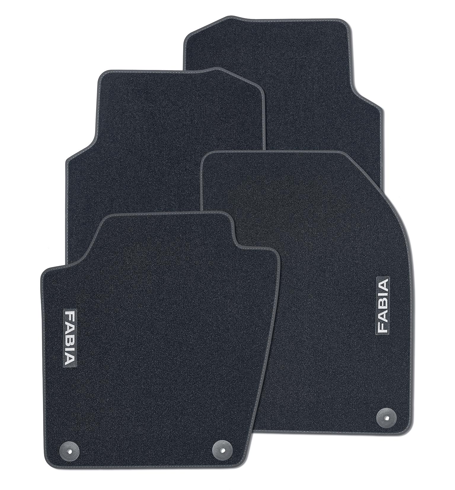 Textilfußmatten-Set Standard FABIA III
