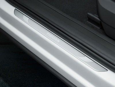 Einstiegleiste Türen vorn, Aluminium, mit Schriftzug