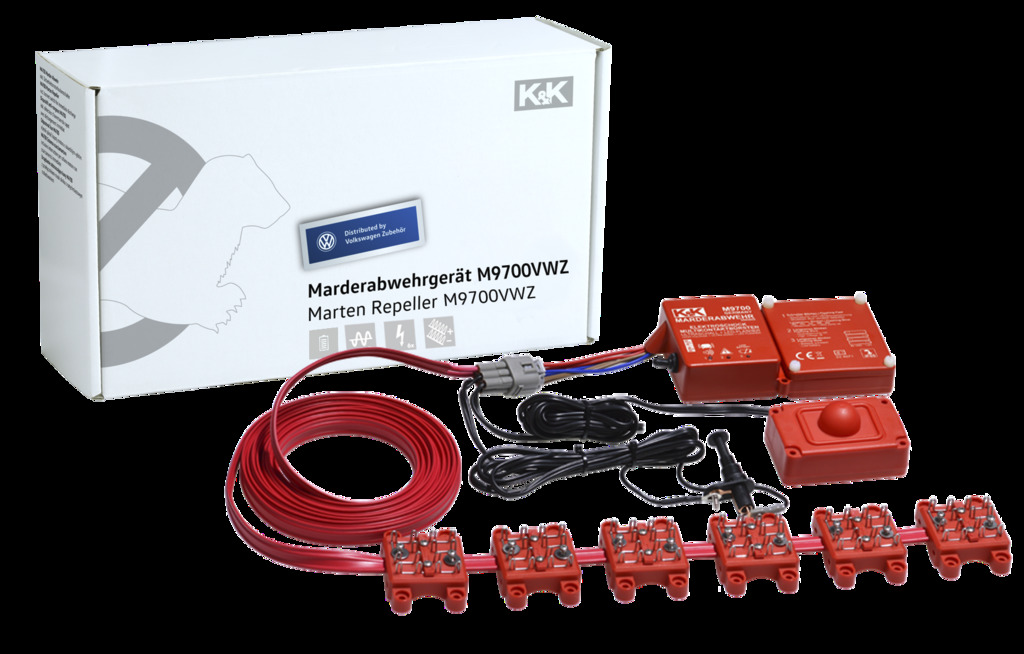 Marder-Abwehranlage (elektrotechnisch)   M9700, Kombigerät, Batteriebetrieben