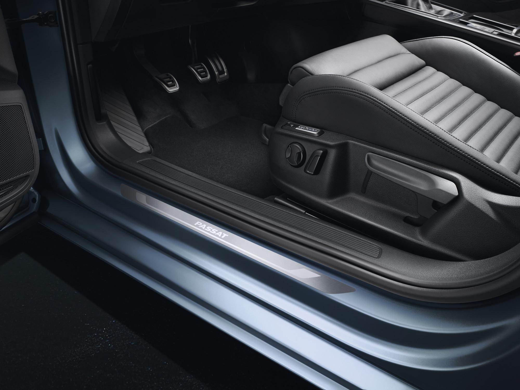 Volkswagen Original Einstiegsleisten Aluminium