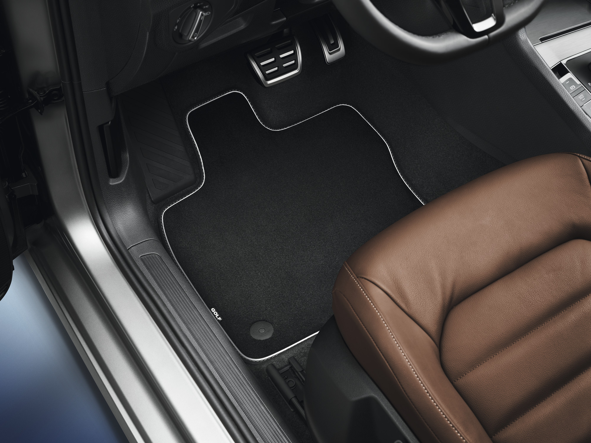Volkswagen Original Textilfußmatten Premium