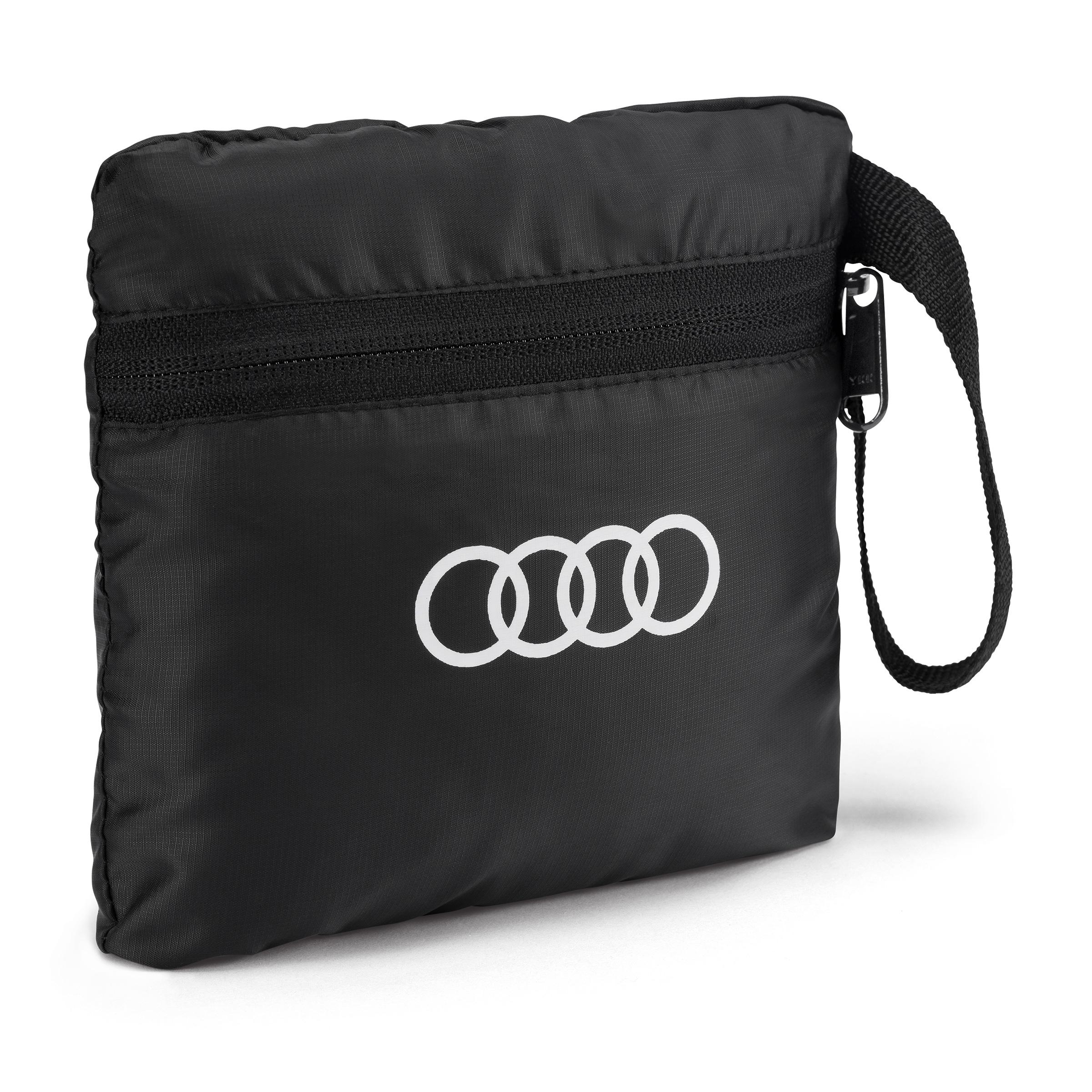 Audi Rucksack faltbar, schwarz